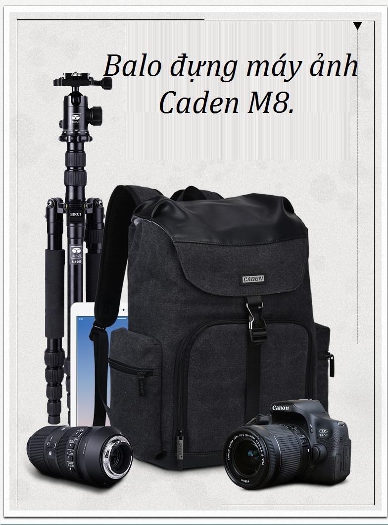 Giá Balo đựng máy ảnh Caden M8.