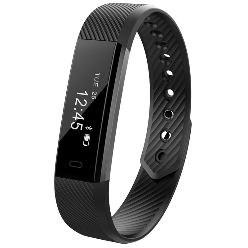 Smart Bracelet ID115 Smart Watch Bluetooth compatible Pedometer Watch Smart Anti Lost Wristband Sports Fitness Smart Bracelet For Android IOS