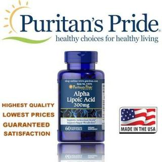 Alpha lipoic acid 300mg 60 viên của Puritan s Pride, HSD 6 2021, giúp đẹp da, trị mụn, giảm cân, có lợi cho người tiểu đường, bị béo phì 4