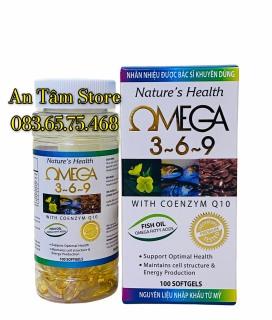 OMEGA 369 - Bí quyết tăng cường trí nhớ, ngăn ngừa bệnh tim mạch, dinh dưỡng cho đôi mắt sáng và làn da mịn màng thumbnail