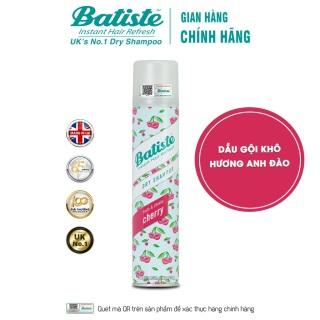 Dầu Gội Khô Hương Anh Đào - Batiste Dry Shampoo Fruity & Cheeky Cherry 200ml thumbnail