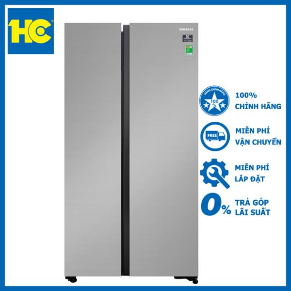 Tủ lạnh Side By Side Samsung Inverter 655L RS62R5001M9/SV - Miễn phí vận chuyển & lắp đặt - Bảo hành chính hãng