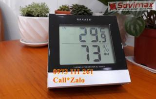 Nhiệt ẩm kế điện tử Nakata NJ-2099-TH thumbnail