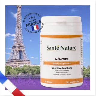 Viên uống giúp tăng cường trí nhớ Santé Nature Mémoire thumbnail