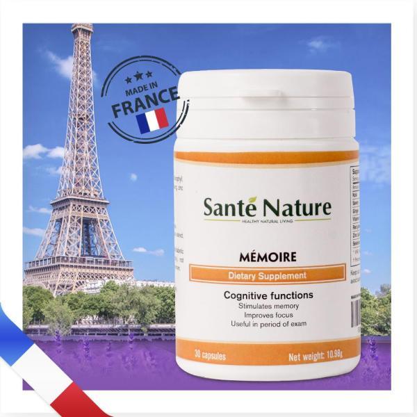 Viên uống giúp tăng cường trí nhớ Santé Nature Mémoire cao cấp