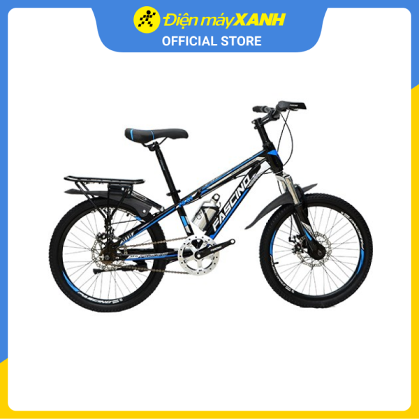 Mua Xe đạp địa hình MTB Fascino FS-01 20 inch Đen xanh