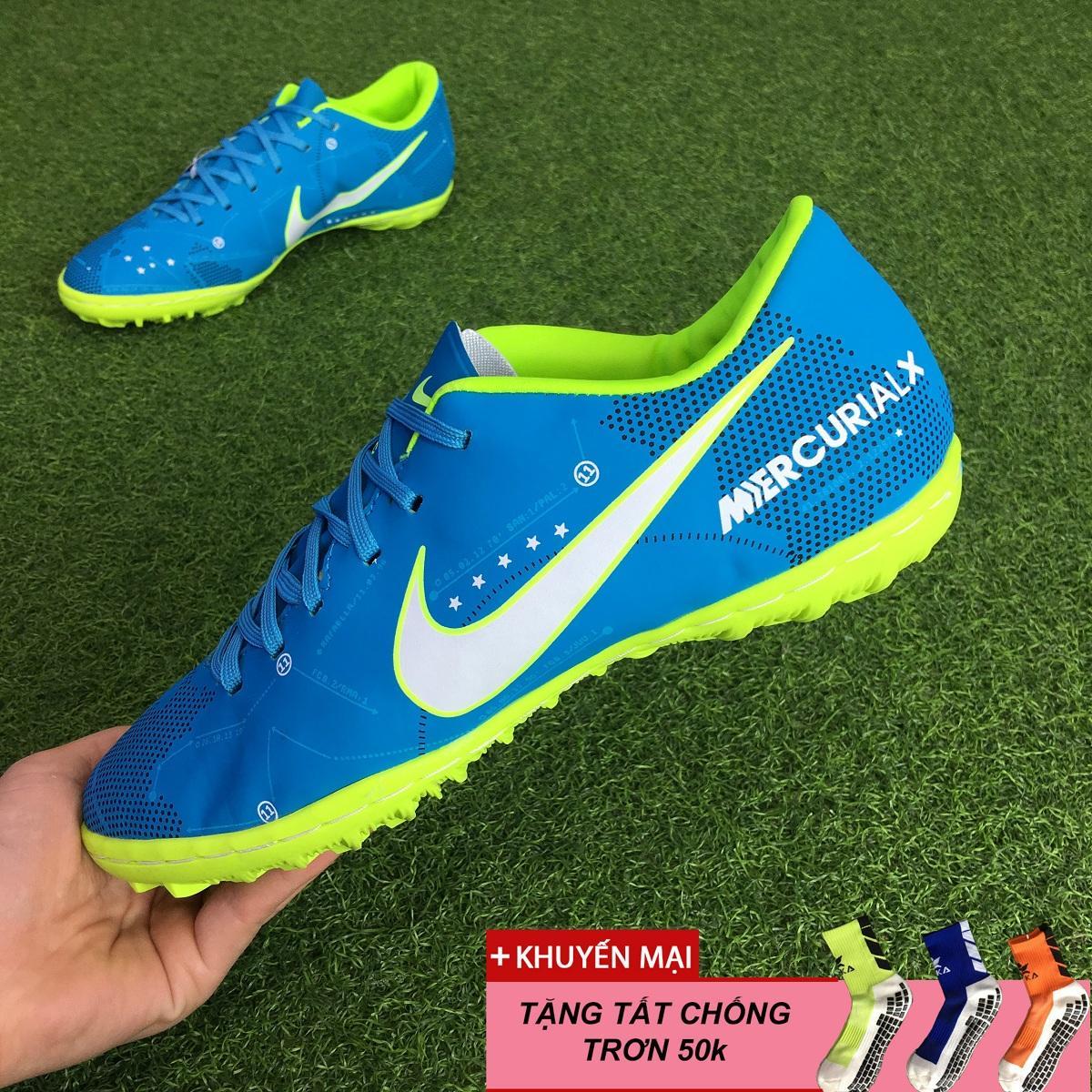 Giày đá bóng sân cỏ nhân tạo Mercurial Neymar TF - Màu Xanh lơ Nhật Bản