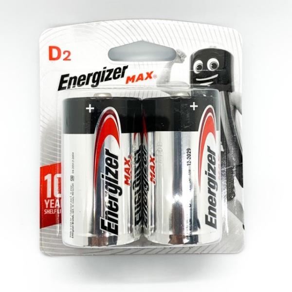 1 Đôi Pin Đại ( Pin D ) Ankaline 1,5 Volt Energizer
