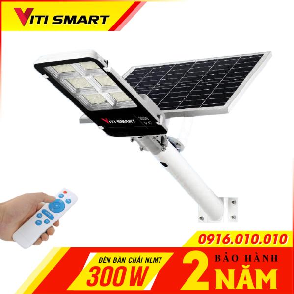 Đèn năng lượng mặt trời VITI SMART đường phố công suất 150w - 300w. Den nang luong mat troi VITI SMART