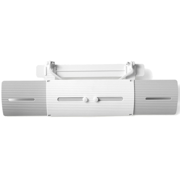 Adjustable Air Conditioner Cover 70Cm Anti-Wind Straight Shield Baffle Board Protector Air Cooling Windshield Wind Guide Plate