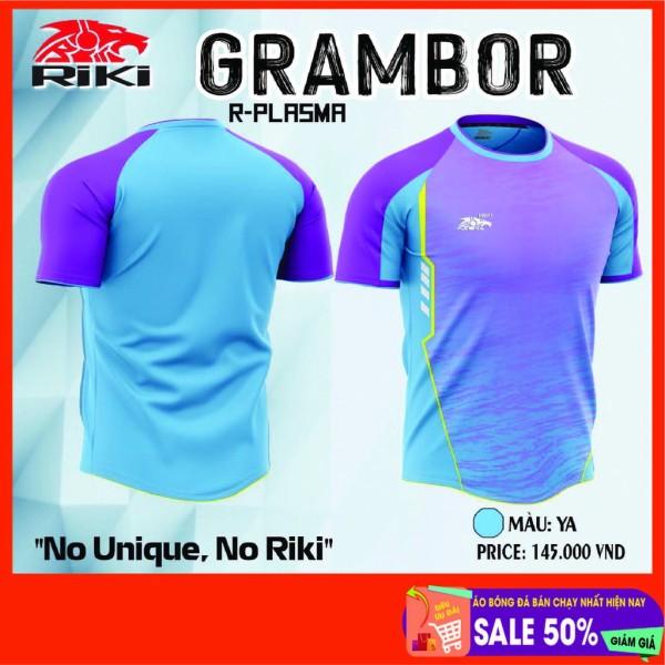 Bộ quầnáo thể thao, Bộ áo bóng đá không logo RiKi Grambo sẵn kho, giá tốt chất vải mềm mát mịn, thấm hút mồ hôi.