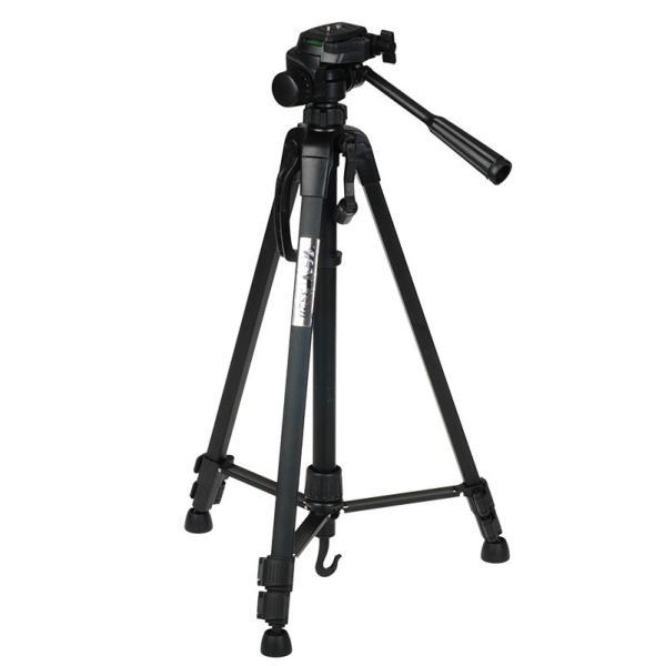 Giá [Tripod] Chân máy ảnh Weifeng WT-3520, khung nhôm cao cấp. Tặng kẹp điện thoại tiện lợi