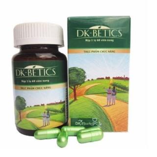 [HÀNG CHÍNH HÃNG] Viên Tiểu Đường Dây Thìa Canh DK BETICS - Hỗ trợ kiểm soát bệnh tiểu đường -DK Pharma - Lọ 60 Viên thumbnail