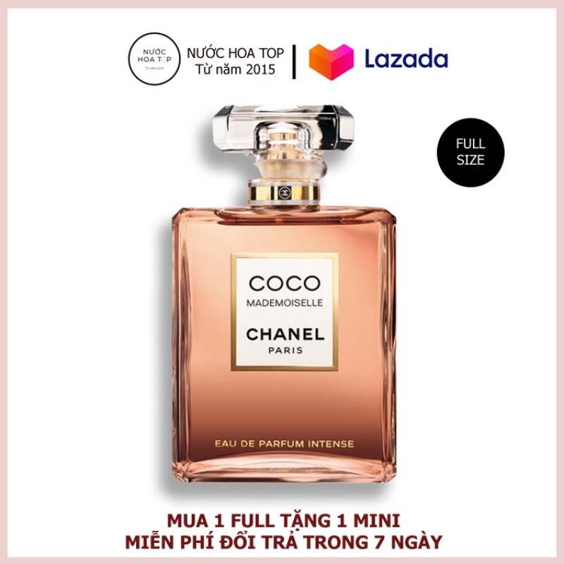 Nước Hoa Nữ Chanel Coco Mademoiselle EDP 100ml chính hãng lưu hương 12h cao cấp