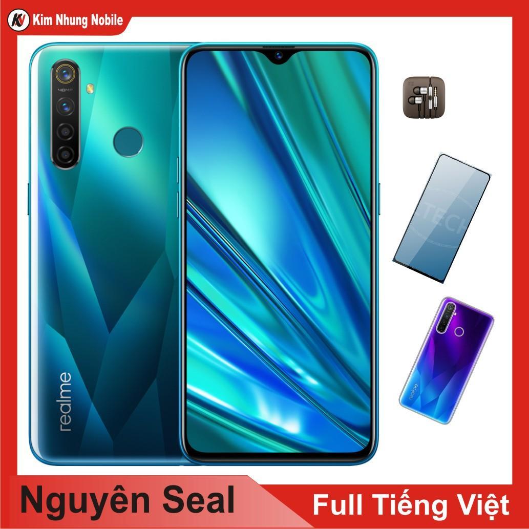 Điện thoại Realme Q 64GB Ram 4GB + cường lực + Ốp Lưng + Tai Nghe Kim Nhung - Hàng Nhập Khẩu,