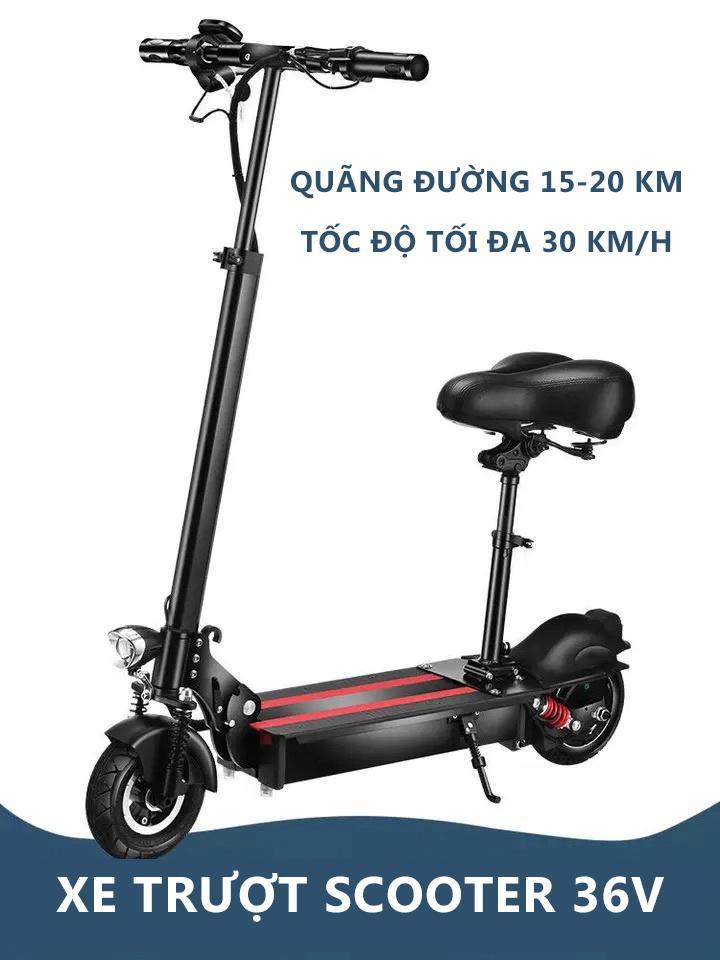 Mua Xe điện Scooter X-bike điện sành điệu Pin Lithiun tối đa 30 km/h giảm sóc màn hình hiển thị thông số thông minh sành điệu