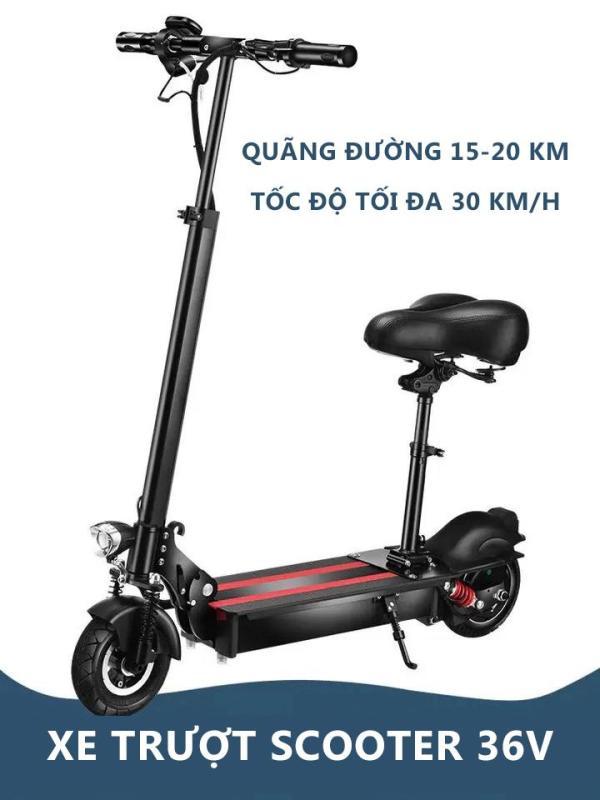 Phân phối Xe điện Scooter X-bike điện sành điệu Pin Lithiun tối đa 30 km/h giảm sóc màn hình hiển thị thông số thông minh sành điệu