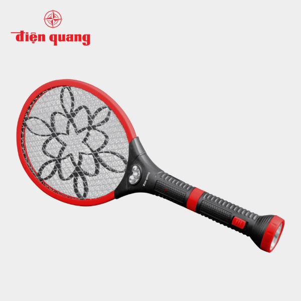 Bộ vợt muỗi đa năng Điện Quang ĐQ EMR06L BLR (Đen- Đỏ)