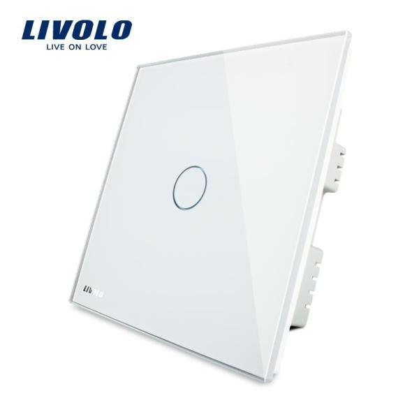 Công tắc led tiêu chuẩn LIVOLO UK switch công tắc cảm ứng nhẹ, AC 220-250V, 3 màu