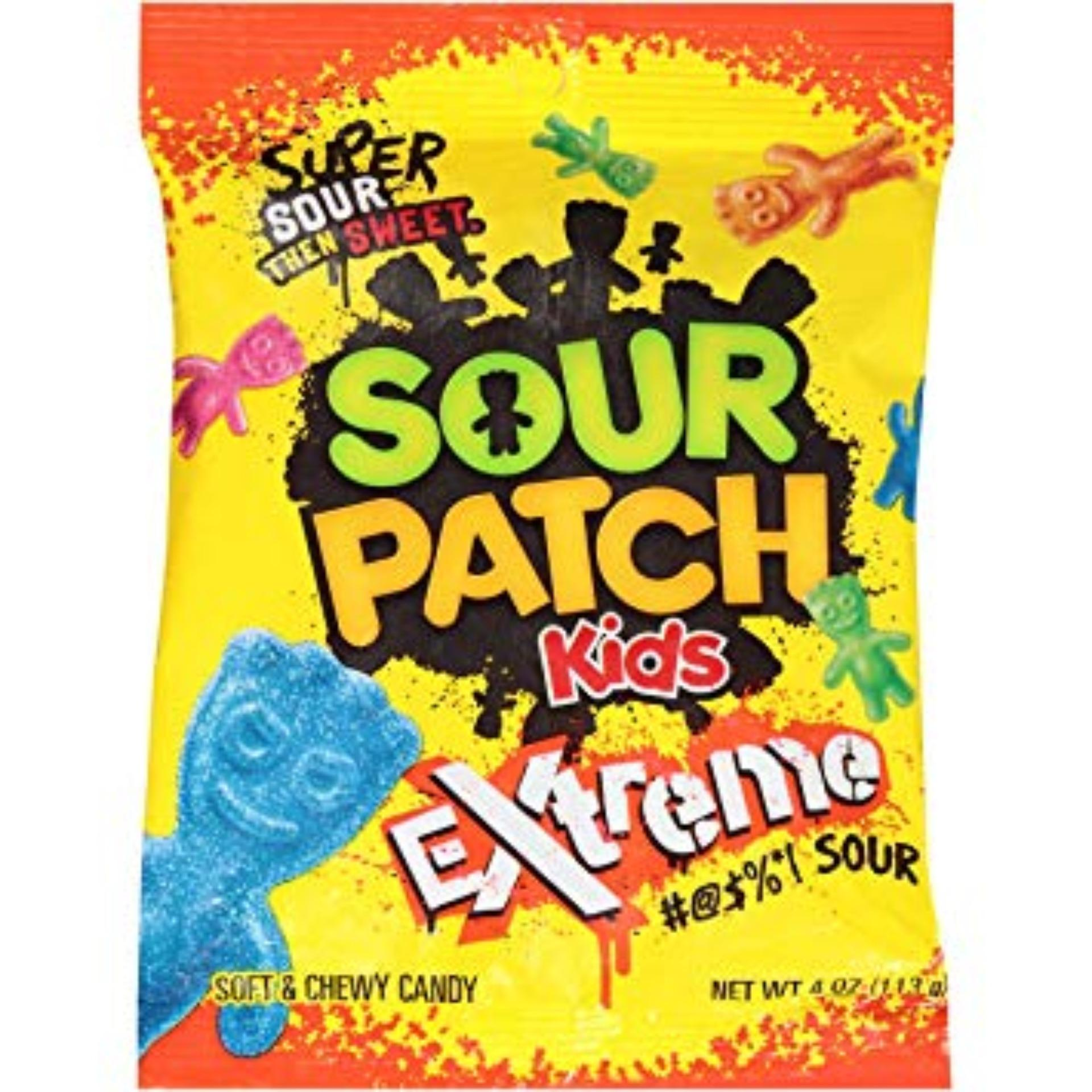 Kẹo dẻo Sour Patch Kids Extreme 113gr