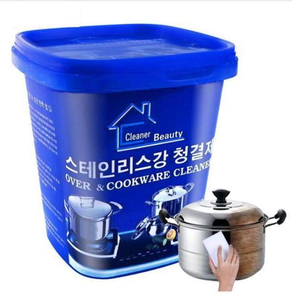 Kem Tẩy Đa Năng Rỉ Kim Loại tẩy xoong nồi và đồ gia dụng Hàn Quốc 500ml - Kem tẩy rửa xoong nồi đa năng Hàn Quốc