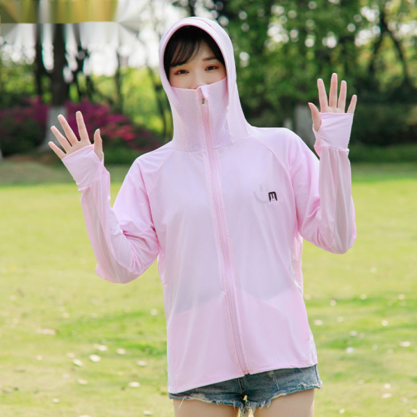 Giá bán Sun Protection Clothing for Women Face Care Ice Silk Sun Protection Coat 2021 Summer New Outdoor Riding Top