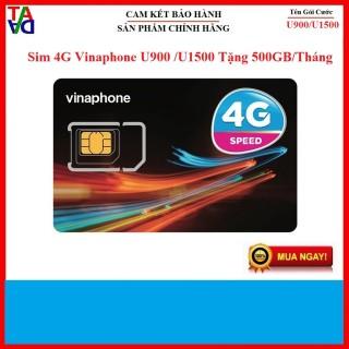 Sim Trọn Gói Sim 4G Vinaphone U900 Và U1500 Tặng 500GB Tháng. (Sim 4G Vinaphone Max Băng Thông) thumbnail