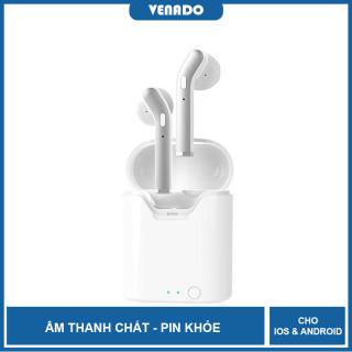 [MẪU MỚI 2020] Tai nghe Bluetooth không dây TWS V5.0 - VENADO Tai nghe tws 5.0 tích hợp cho cả ios và android khả năng kết nối 24m hiển thi dung lượng pin, pin khỏe, nghe nhạc chất thumbnail