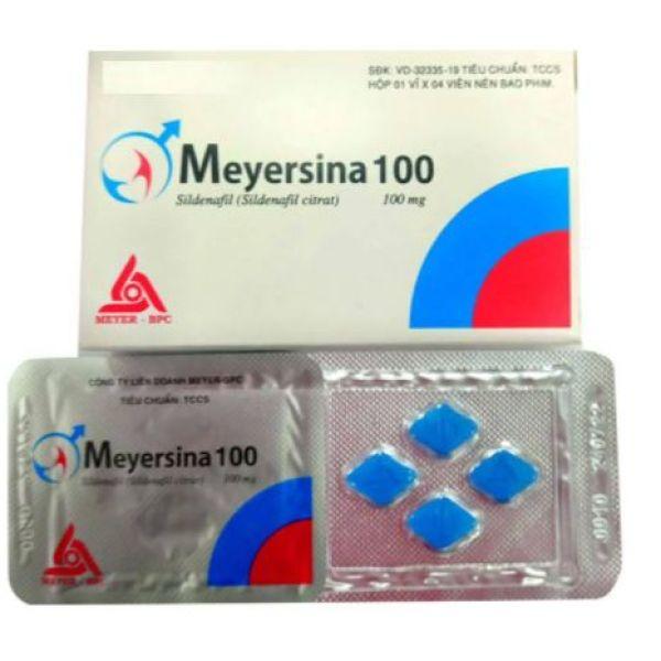[HCM] Tăng cường sức khỏe nam giới Meyersina 100 (Hỗ trợ rối loạn cương dương )