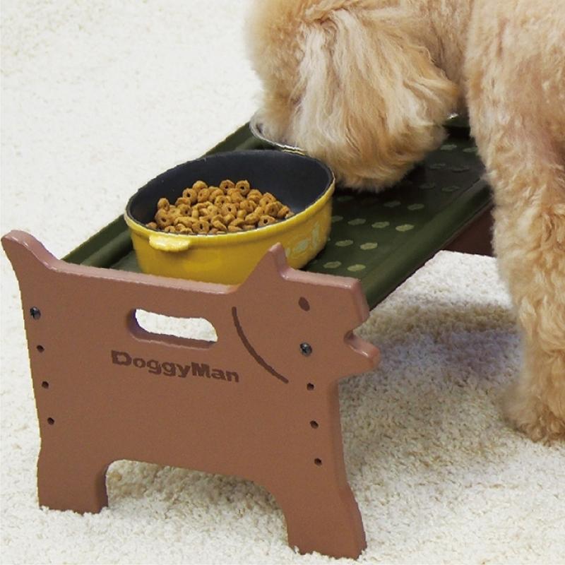 Bàn ăn khay nhựa cho chó DoggyMan size M 93378