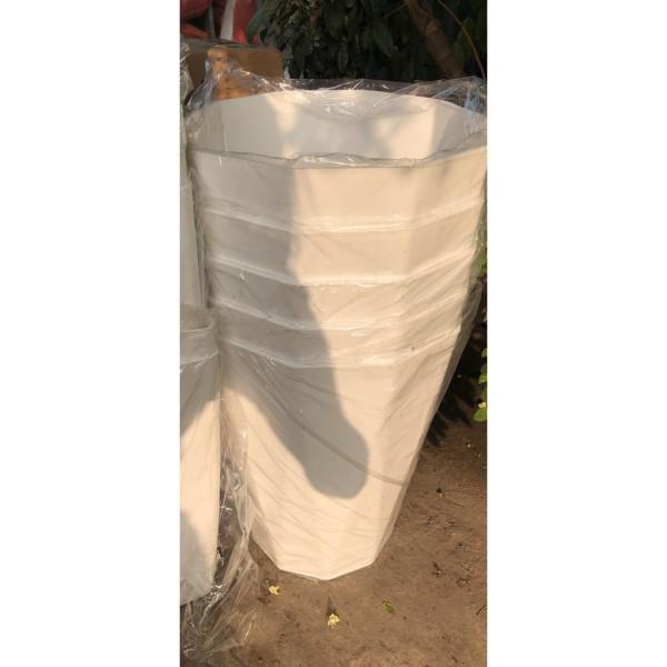 combo 5 chậu nhựa kim cương trồng cây đường kính 30cm