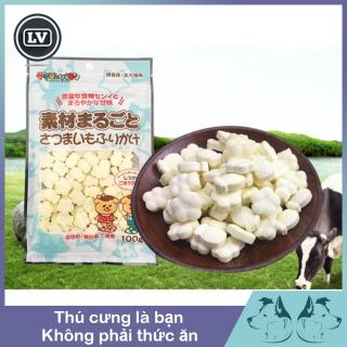Bánh sữa phô mai cho chó mèo 100gram - Phụ kiện Long Vũ thumbnail