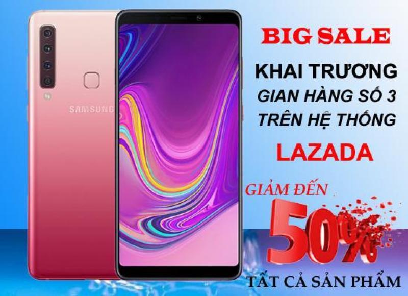 Điện thoại Samsung Galaxy A9 128GB(2018) - Mặt kính 3D Cao Cấp - Cụm 4 camera sau - Bảo hành 12 tháng trên toàn quốc
