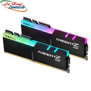 Ram GSKILL TridentZ RGB 16GB 2x8GB DDR4 Bus 3000 F4-3000C16D-16GTZR thumbnail