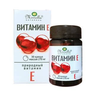 Vitamin E Đỏ Của Nga Mirrolla 270mg thumbnail
