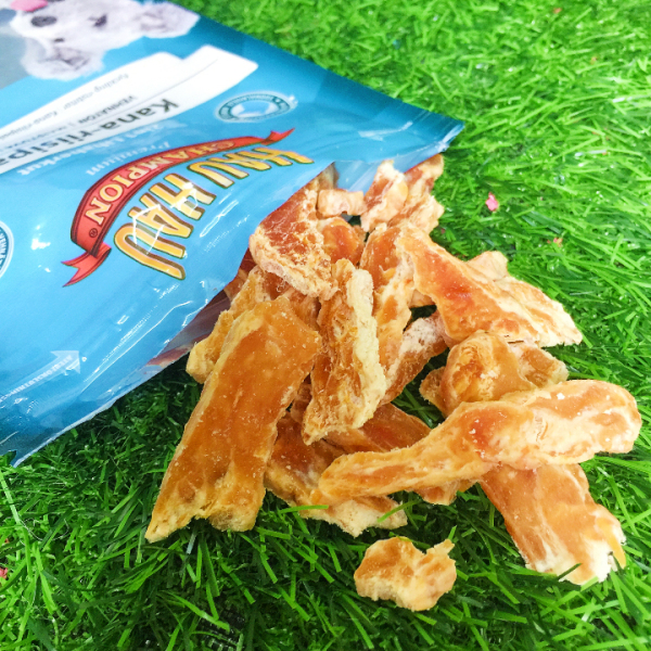 Bánh Thưởng Cho Chó Lát Gà Bông Tuyết Siêu Ngon thành phần dinh dưỡng, giúp hỗ trợ việc huấn luyện chó và nâng cao khả năng học hỏi của chó - SP005234