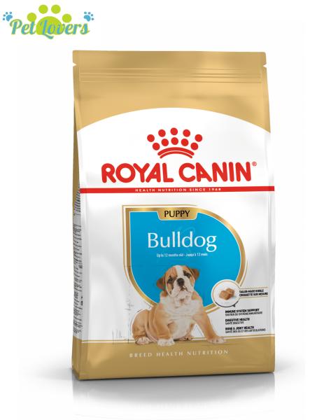 Royal Canin Bulldog Puppy 1kg và 3kg Thức ăn cho chó con Bulldog
