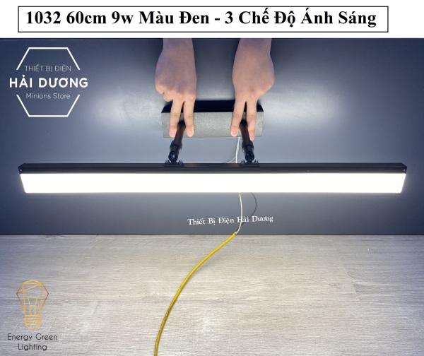 Bảng giá Đèn soi tranh - Đèn rọi gương Led Model 1032 60cm 9w 3 Chế Độ Ánh Sáng - Điều chỉnh được góc chiếu