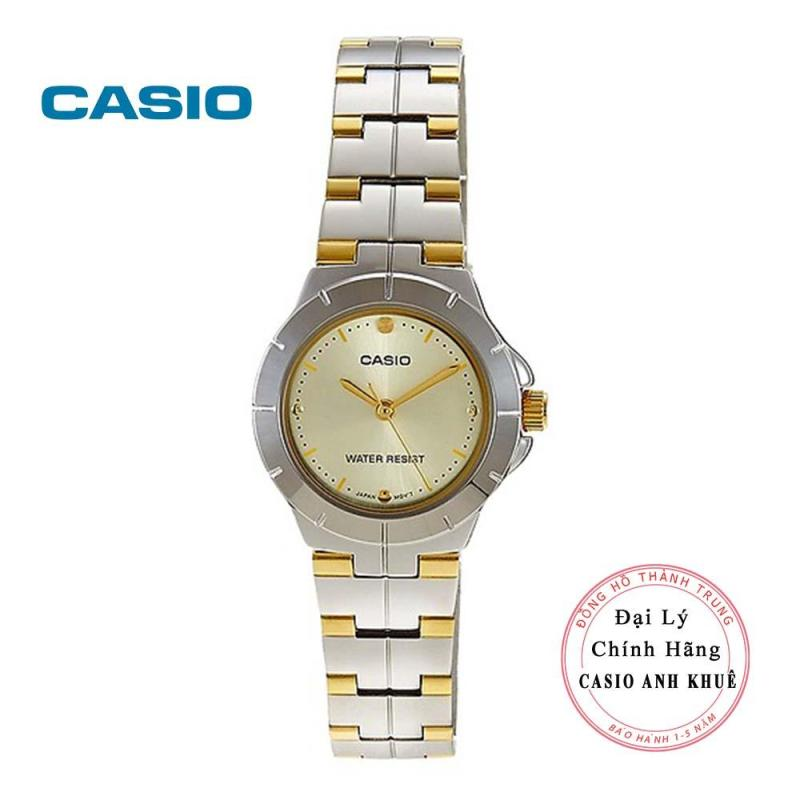 Đồng hồ nữ Casio LTP-1242SG-9CDF dây kim loại
