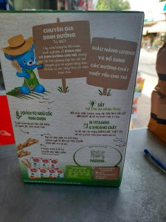 Bột ăn dặm Cerelac rau xanh và bí đỏ Nestlé 200g thumbnail
