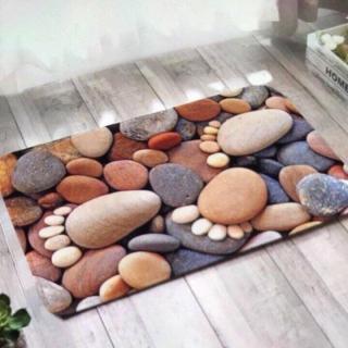 Thảm lau chân,thảm lót sàn MarketVietNam nhiều mẫu mã đẹp 3D phong cách Hàn Quốc ,loại 1 (60cm x40cm) cao cấp thumbnail