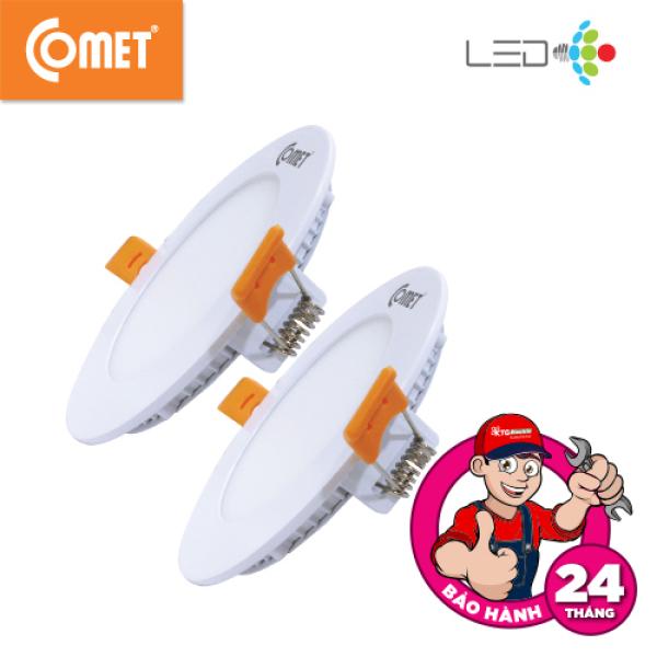 Bộ 2 Cái: Đèn Led Âm Trần Siêu Mỏng Comet mã CP111S, công suất cao thiết kế siêu mỏng ,chất liệu nhôm sơn tĩnh điện,chống rỉ sét và tản nhiệt hiệu quả; tính năng tản sáng cao cấp,quang thông cao,chiếu sáng tốt mà vẫn tiết kiệm