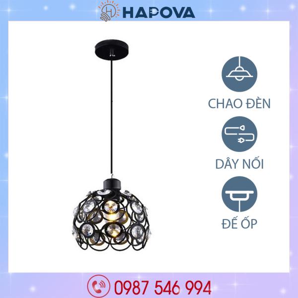 Đèn thả trần trang trí bàn ăn bằng pha lê pha lê HAPOVA DT 6816