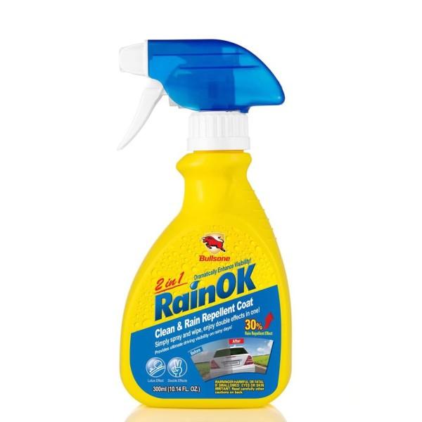 Bình vệ sinh kính chống bám nước mưa 2in1 Bullsone RainOK 300ml