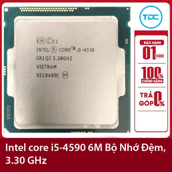 Bảng giá Bộ vi xử lý Intel CPU Core i5-4590 3.30GHz ,84w 4 lõi 4 luồng, 6MB Cache Socket Intel LGA 1150 Phong Vũ