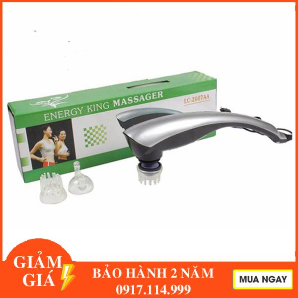 Máy massage toàn thân cầm tay 3 đầu - Máy mat-xa toàn thân cầm tay toàn thân 3 đầu LC 2007A