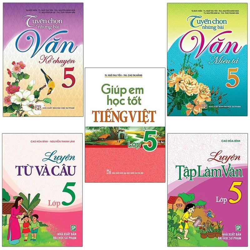 Mua Sách: Combo 5 Cuốn Học Tiếng Việt Toàn Diện Cho Học Sinh Lớp 5