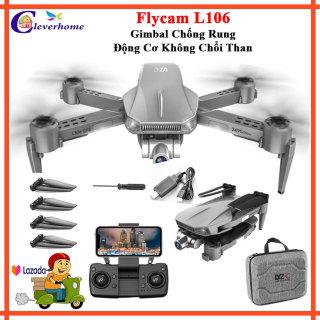 Flycam L106 Pro Camera 4K - Flycam chính hãng - Drone Camera 4k - Flycam 4k Giá rẻ - Máy bay flycam 4k giá rẻ - Flaicam - Plycam Có Camera 4k - Playcam Mini - May bay 4 canh co camera - Phờ lai cam - Drone 1 Ratings thumbnail