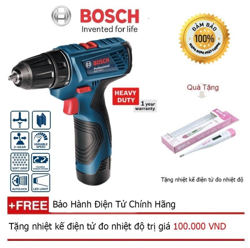 Máy khoan pin vặn vít Bosch GSR 120 LI GEN II