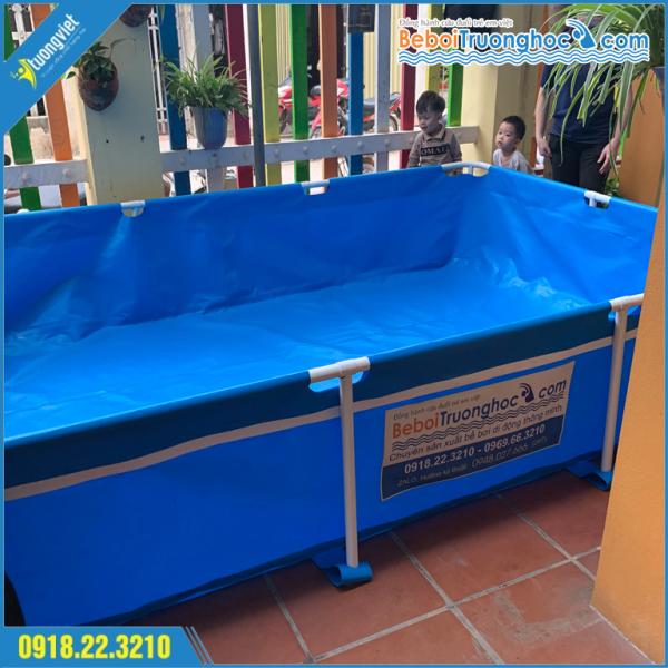 Bể bơi lắp ghép KT 4x3.1x0.8m